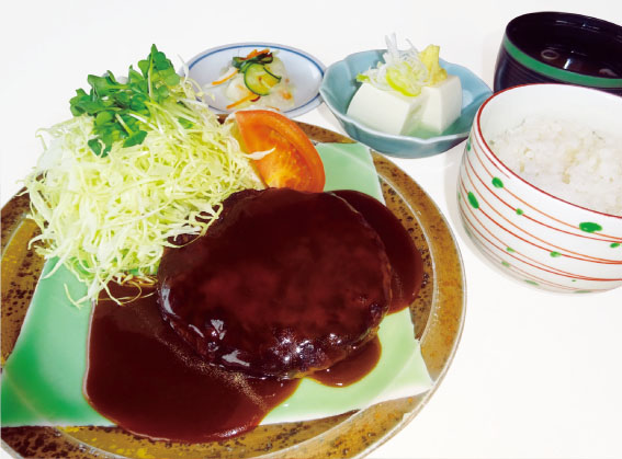 ※季節限定 イベリコ豚でハンバーグ!(定食)