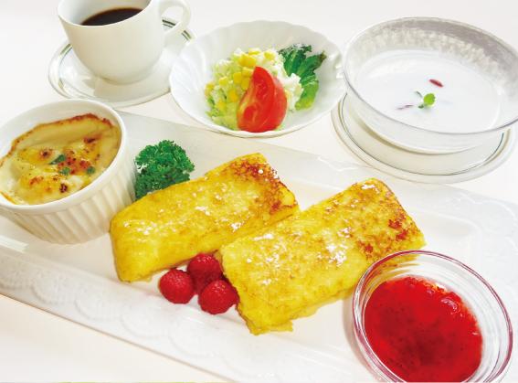 レディース&シニアDAY限定レディースランチ〈1日10食〉フレンチトーストセット